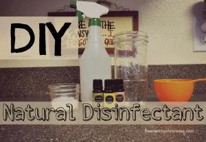 DIY Natural Disinfectant