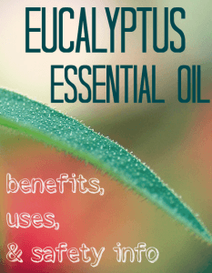 Uses and Benefits of Eucalyptus Essential Oil