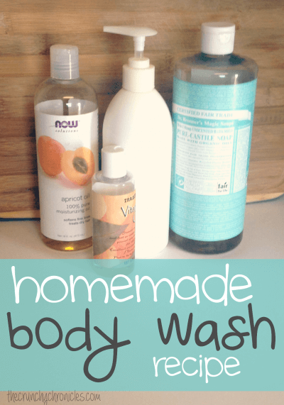 How To Make Natural Body Wash With Castile Soap
