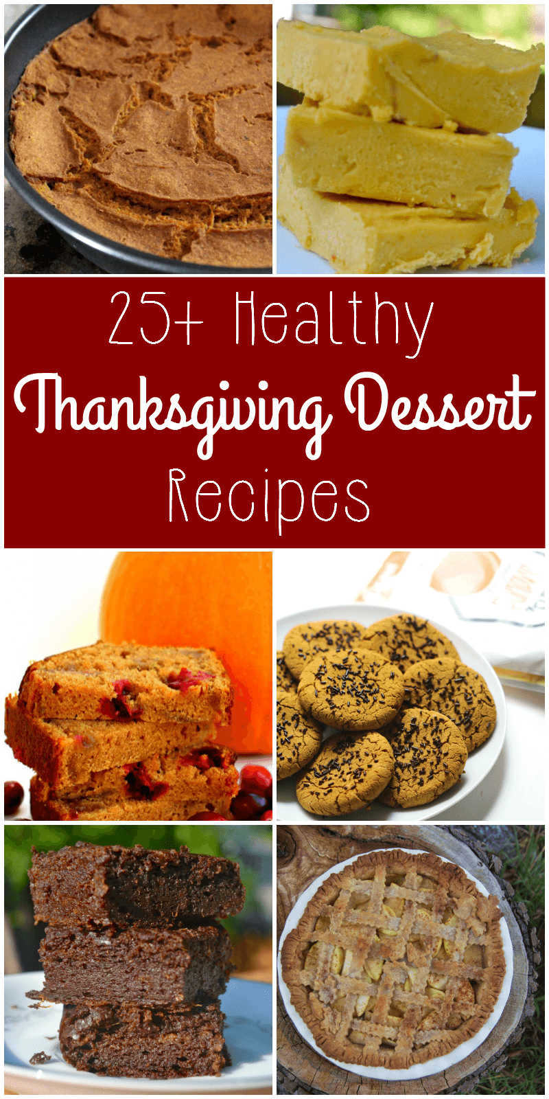 Looking for a healthy Thanksgiving dessert recipe? Many of these recipes are vegan, sugar-free, gluten-free, and/or paleo. Add some of these delicious desserts to your Thanksgiving menu this year!