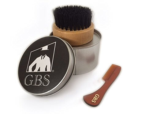 Useful Gift Ideas for the Bearded Man - Soft Bristled Brush/Boar Brush